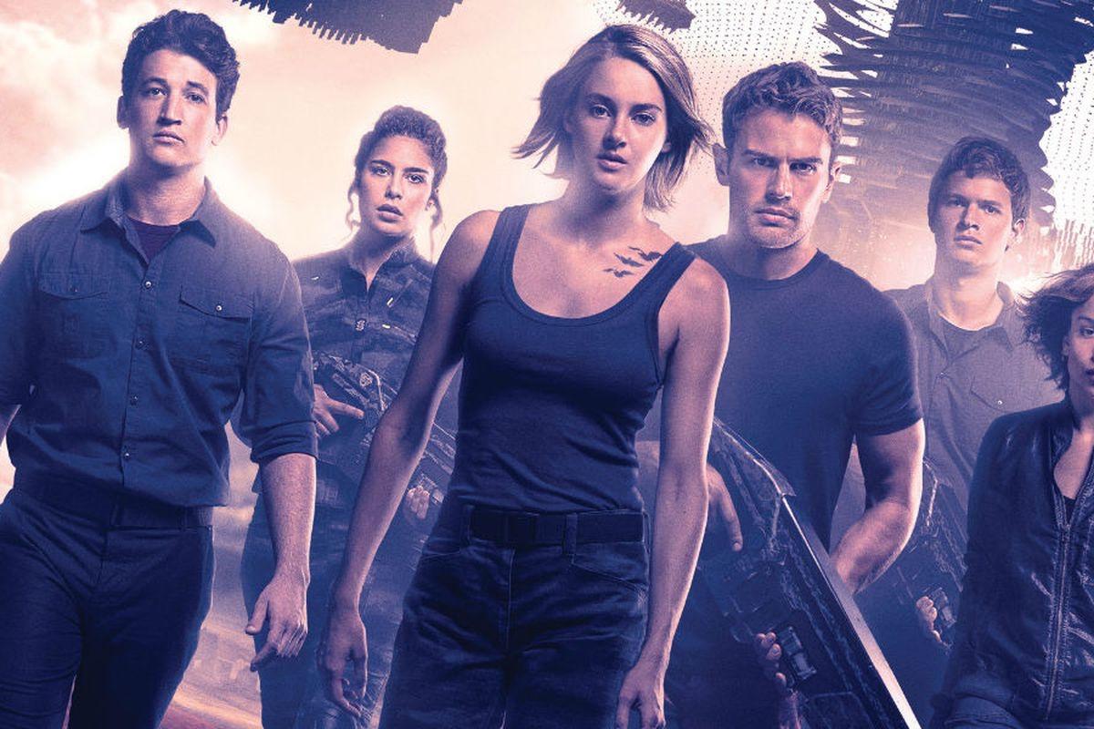 Divergent cast in the Allegiant movie