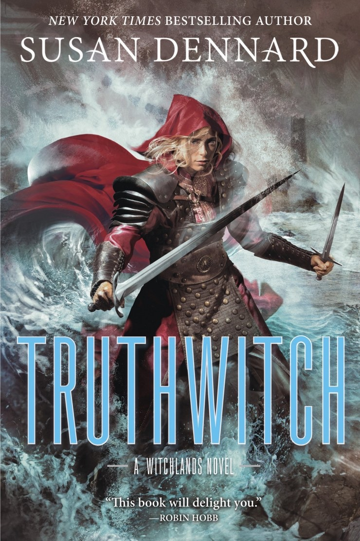 Truthwitch by Susan Dennard new cover