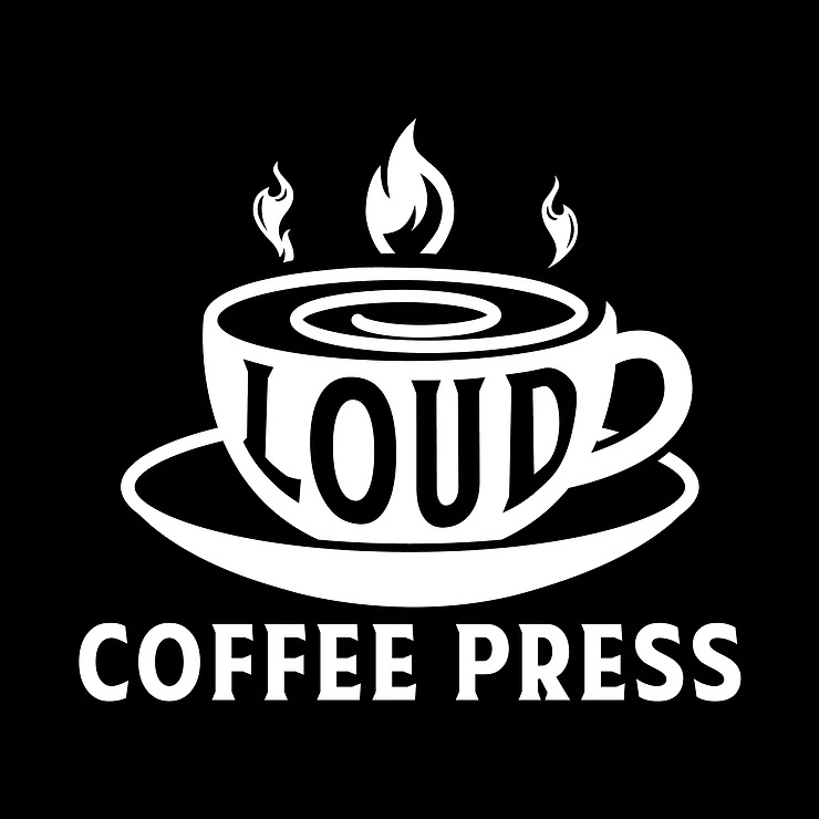Loud Coffee Press logo haiku contest